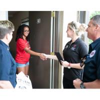 Home Visits are Conducted by Representatives from Student Life and the Columbus Fire Department