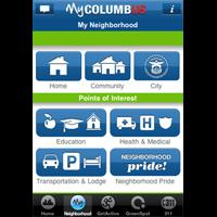 Get information about city services with the MyColumbus App
